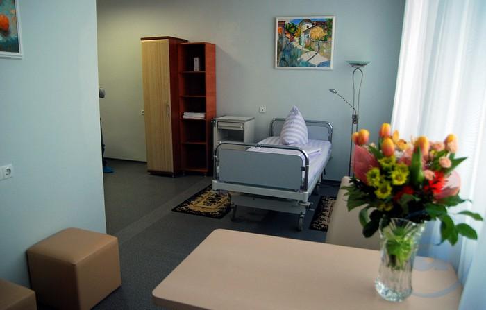 Цветы в больнице в