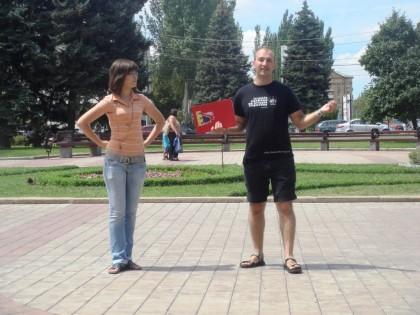 Дончанам прочитали лекцию о том, как защищаться от милиции