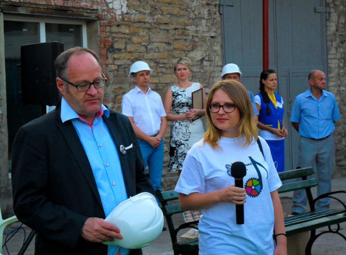 Промышленную красоту Донецка можно увидеть один раз в году