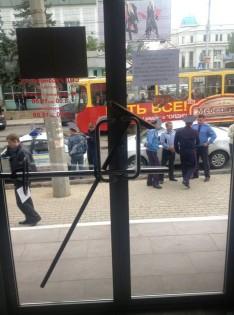 В Донецке рейдеры пытаются захватить здание