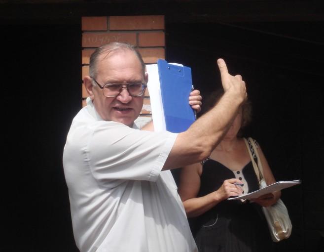 Председатель инициативной группы Борис Литвинов.