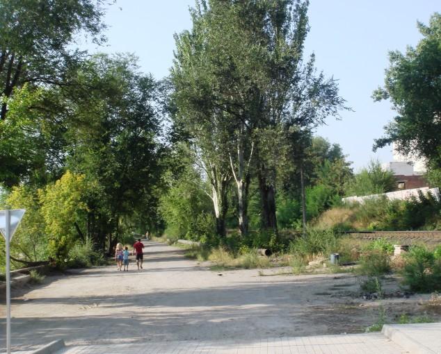 парк Студенческий в Донецке