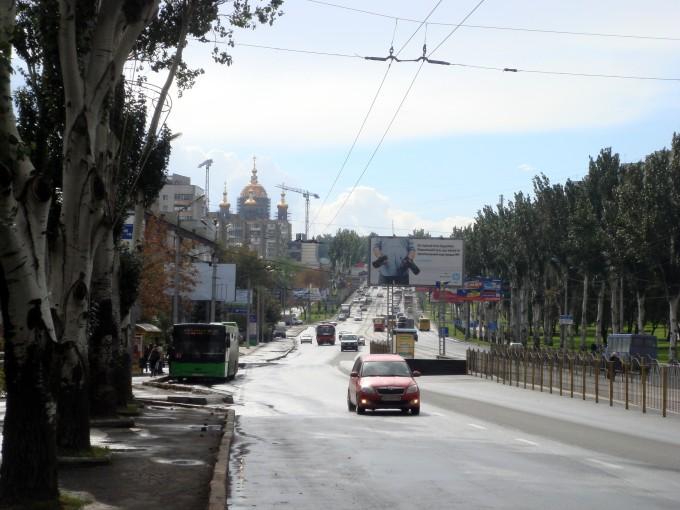 Храм в парке славянской культуры