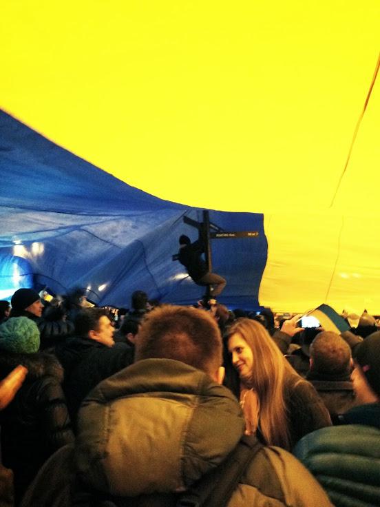 митинг за единство в Донецке